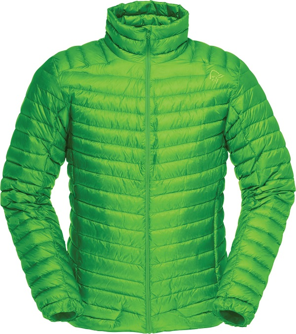 "Norrona ""Lofoten super ltw. down Jkt M"" - clean green"