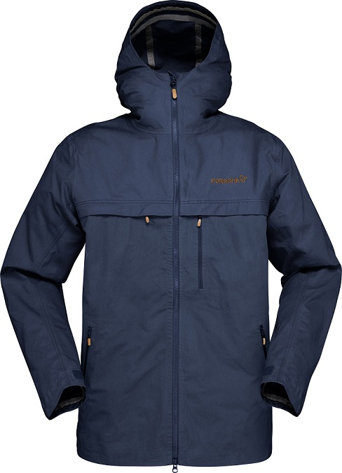 "Norrona ""Svalbard Cotton Jkt (M)"" - night blue"