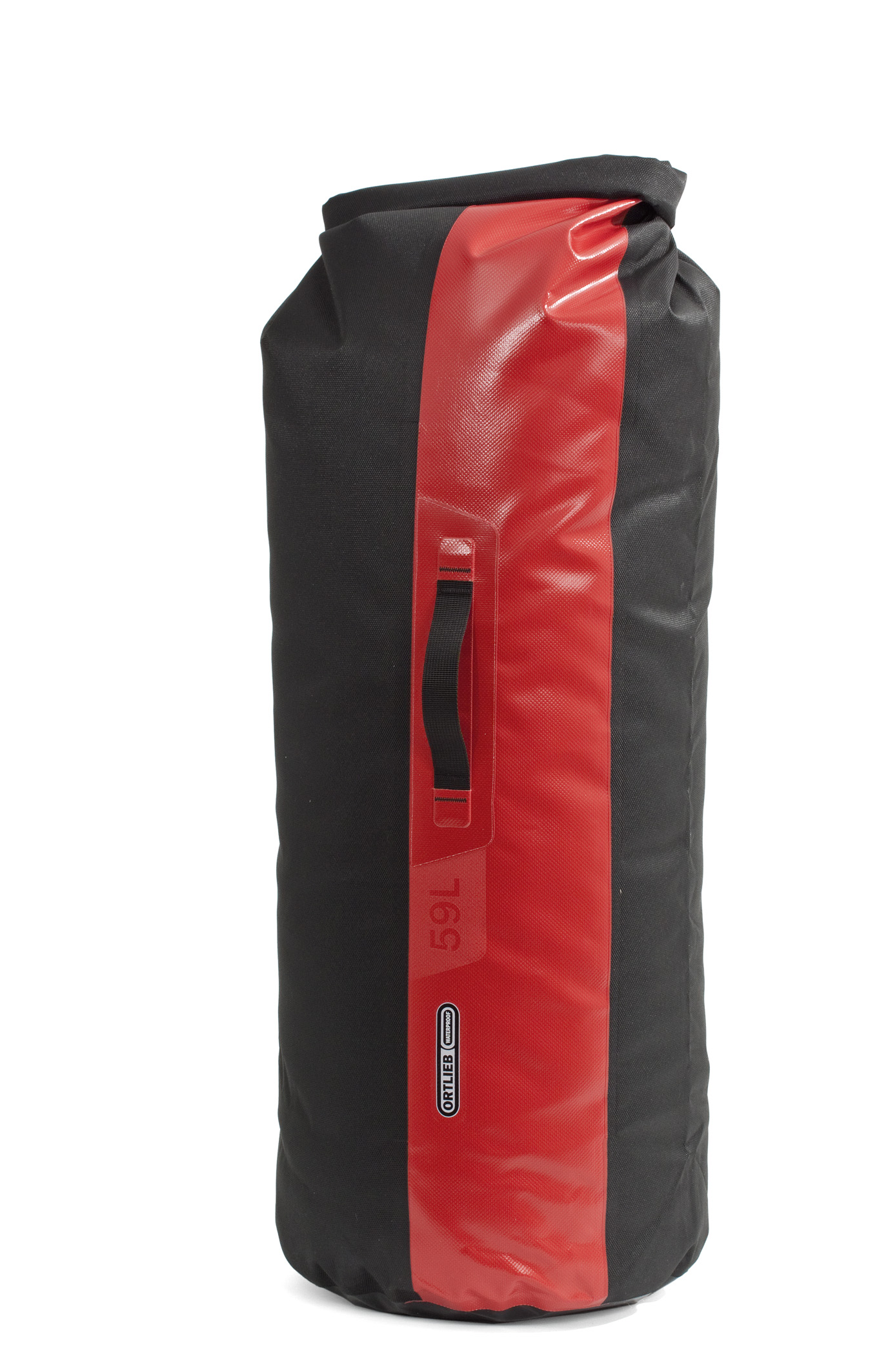 "Ortlieb ""Dry-Bag PS490"" - Black/ Red"