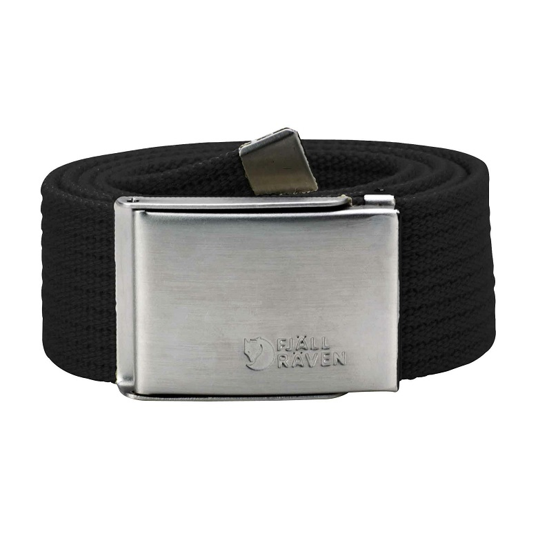 "Fjaellraven ""Canvas Belt"" - black"