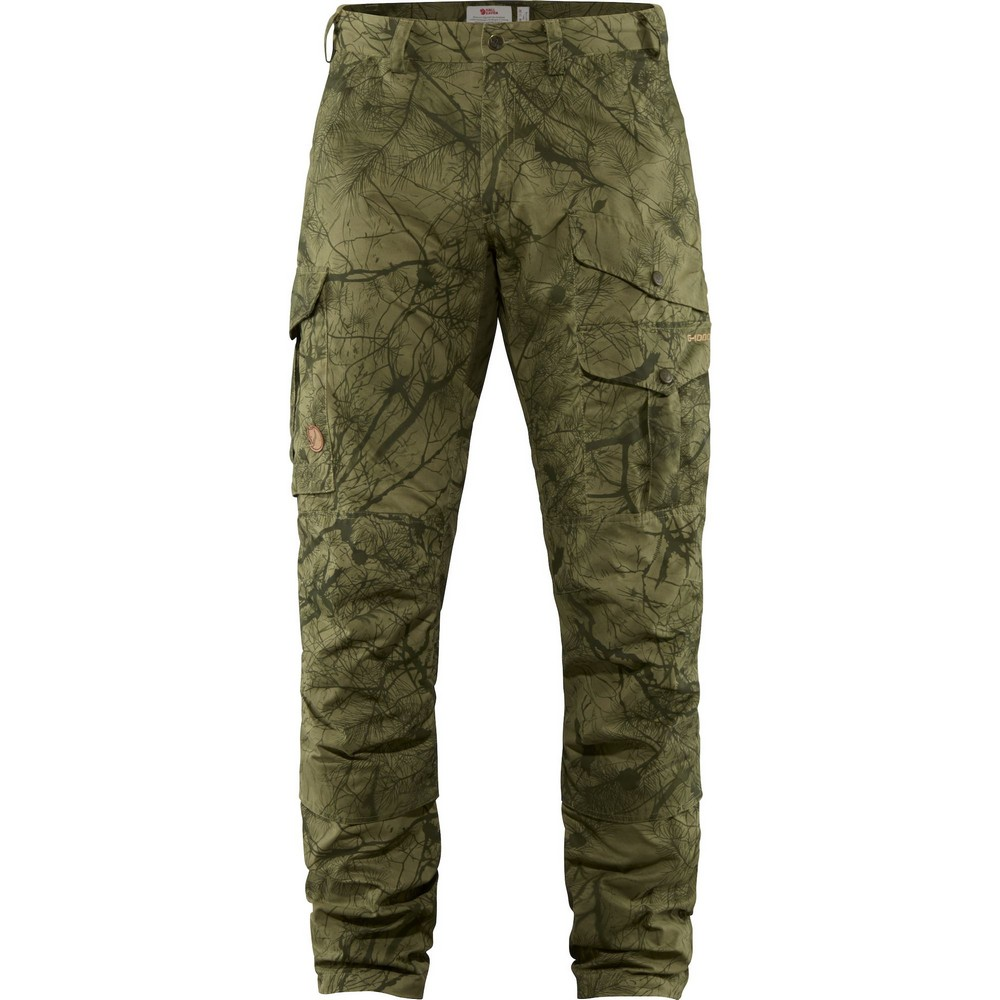 """Fjällräven """"Barents Pro Hunting Trousers M"""" - green camo/deep forest"""