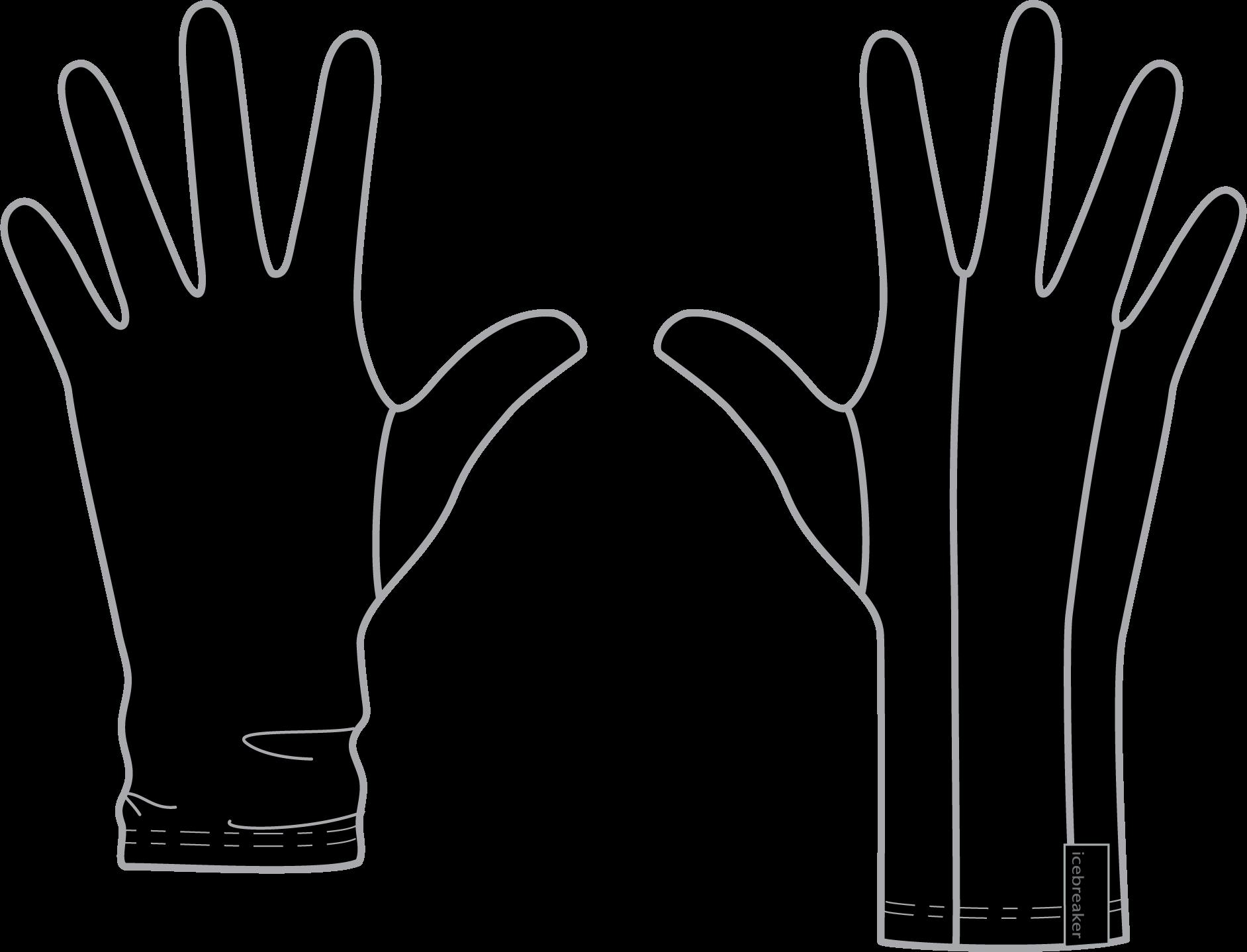"Icebreaker ""Adult 200 Oasis Glove Liner"""