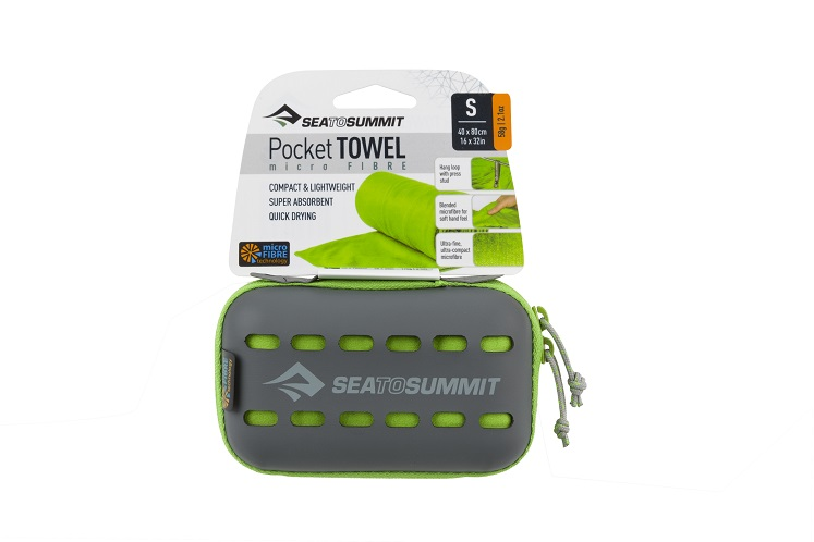 "Sea to Summit"" Pocket Towel"" - lime"