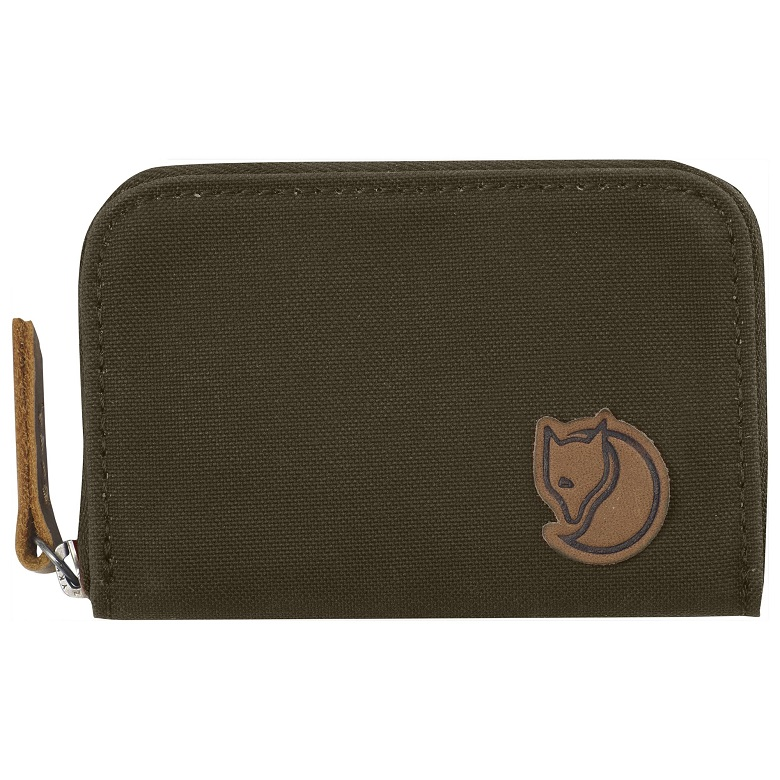 "Fjällraven ""Zip Card Holder"" - dark olive"