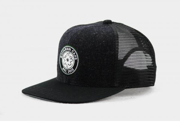 "Bavarian Caps ""Anno Fuchzehn""- schwarz"