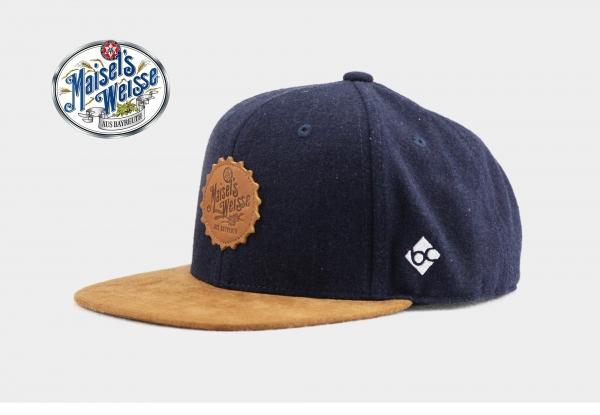 """Bavarian Caps """"Brauerei Maisel"""" - blau"""