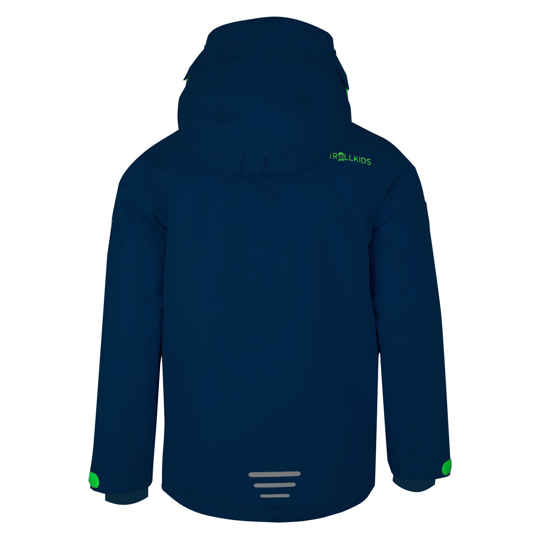 """Trollkids """"Kids Holmenkollen Snow Jacket"""" - navy/green"""