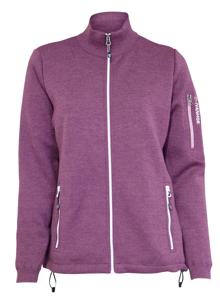 """Ivanhoe """"Flisan Windbreaker"""" - purple"""