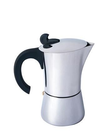"Basic Nature ""Espresso Maker Edelstahl"" - 6 Tassen"