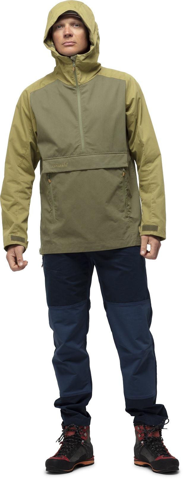"Norrona ""Svalbard Cotton Anorak"" - olive drab"
