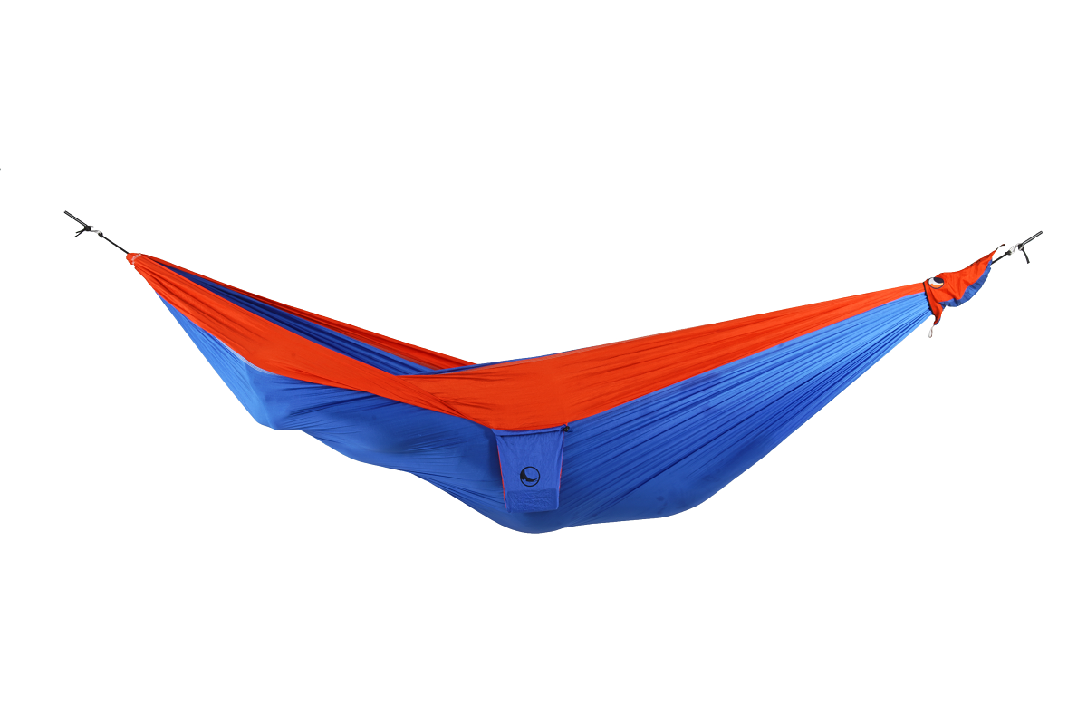 "Ticket to the Moon ""Original Hammock"" - royal blue/ orange"