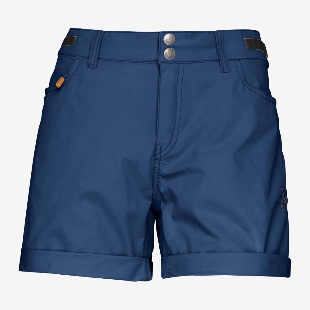 "Norrona ""Svalbard Light Cotton Shorts W"" - indigo night"
