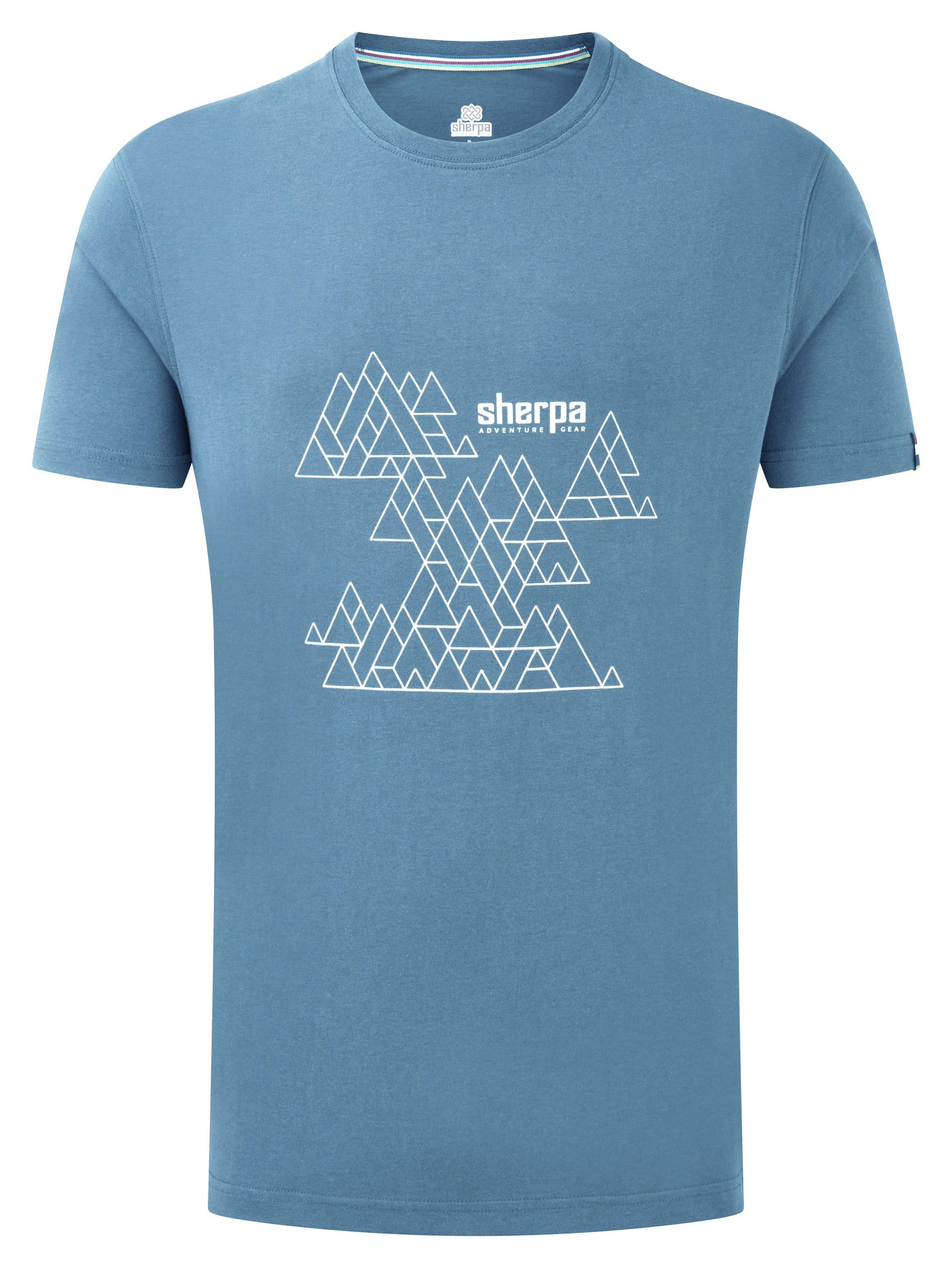 """Sherpa """"Kala Tee"""" - slate blue"""