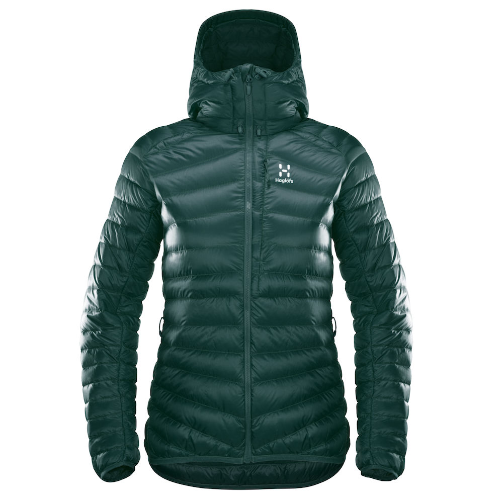 "Haglöfs ""Essens Down Hood Women"" - mineral"