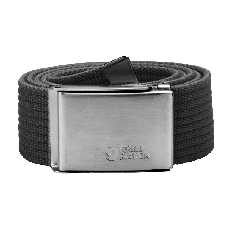 "Fjaellraven ""Canvas Belt"" - dark grey"