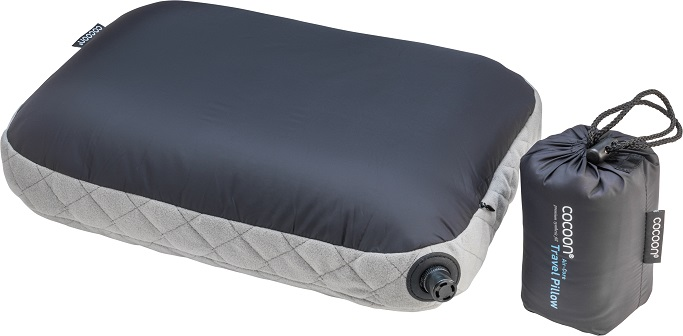 "Cocoon ""Air Core Pillow"" - charcoal"