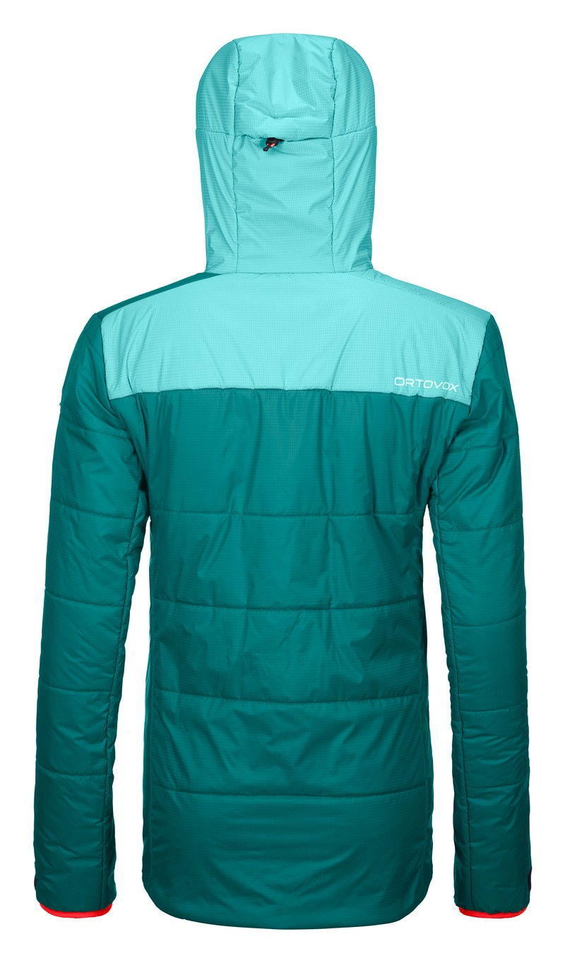 "Ortovox ""Swisswool Zinal Jacket W"" - pacific green"