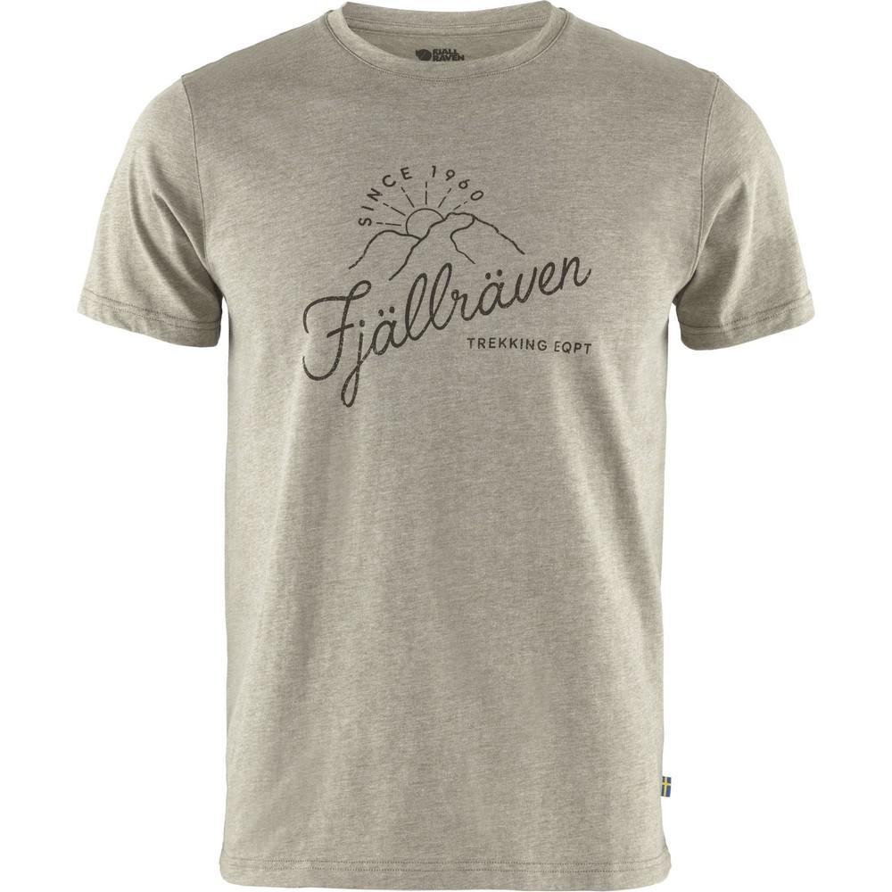 "Fjällräven ""Sunrise T-shirt M"" - light olive-melange"