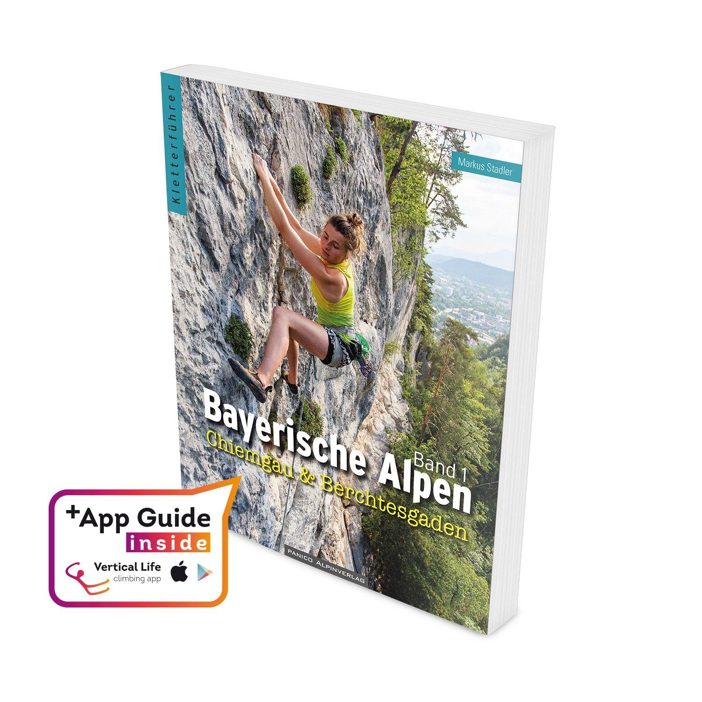 """Panico Kletterführer """"Bayerische Alpen"""" - Band 1"""