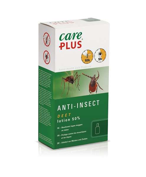 "Care Plus ""Insektenschutz Deet 50% "" - 50ml Lotion"