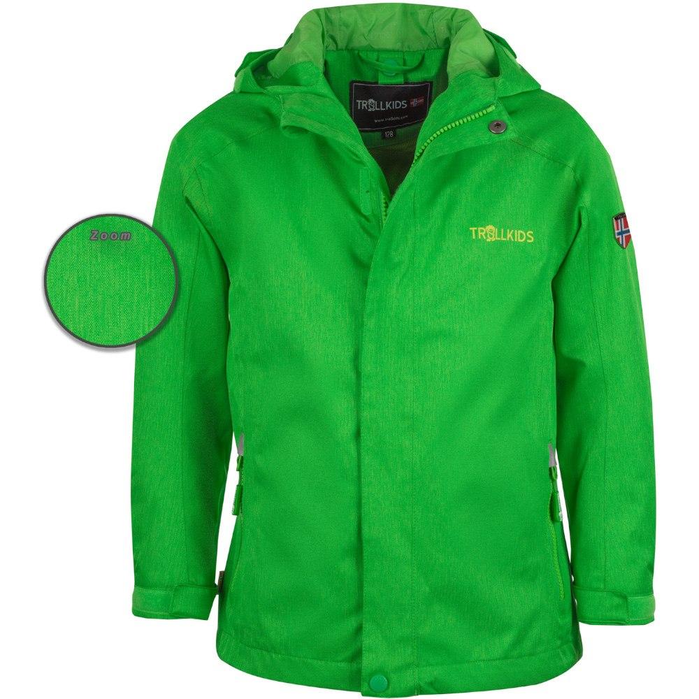 "Trollkids Kids ""Nordfjord Jacket"" - bright green"
