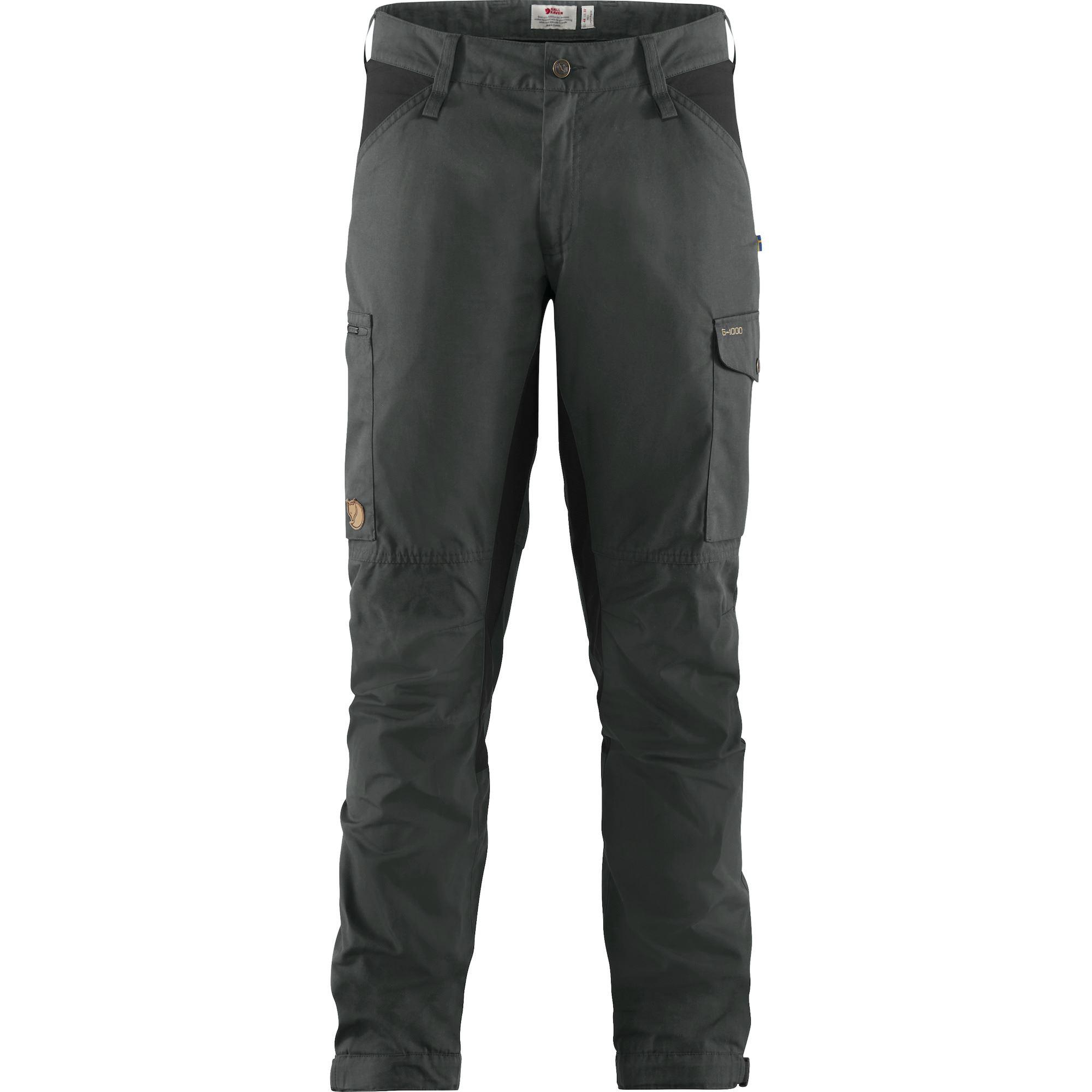 """Fjällräven """"Kaipak Trousers M"""" - dark grey/black"""