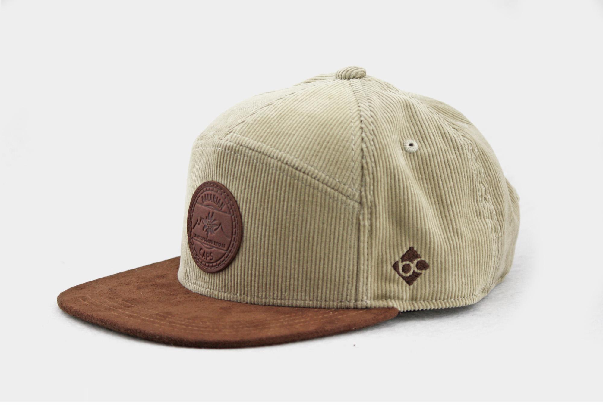 "Bavarian Cap ""Alpinum Edelweiß"" - kord"