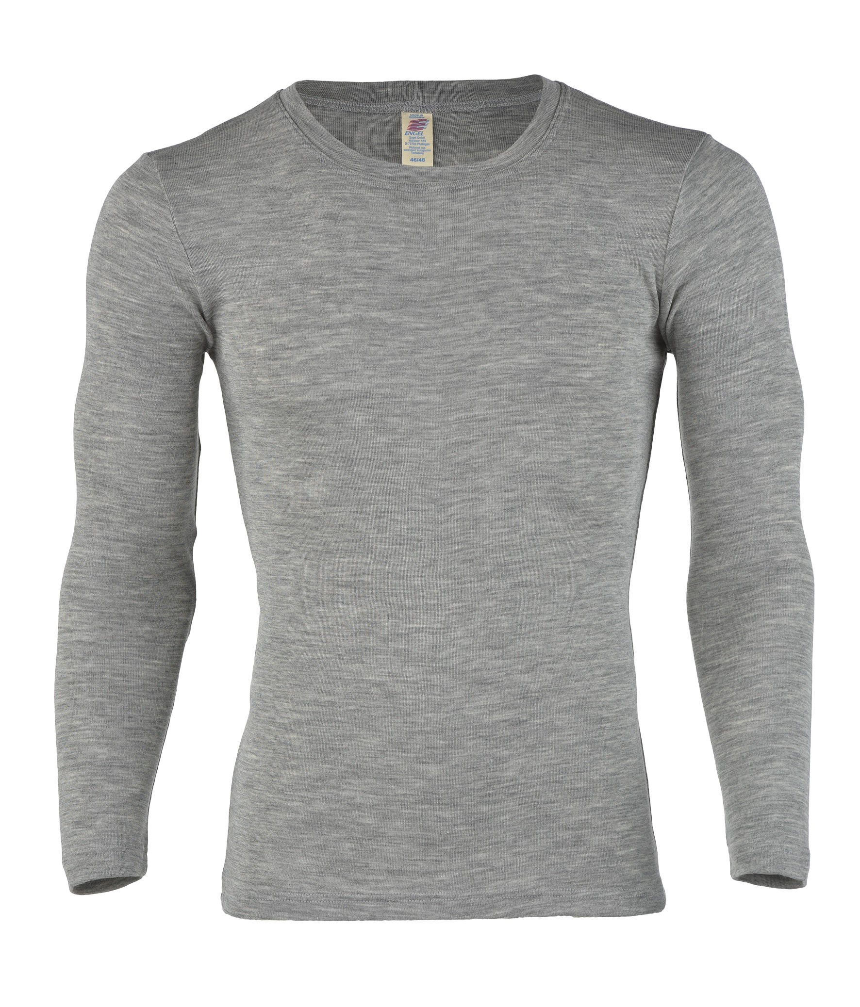 "Engel ""Herren-Shirt langarm"" - grau"