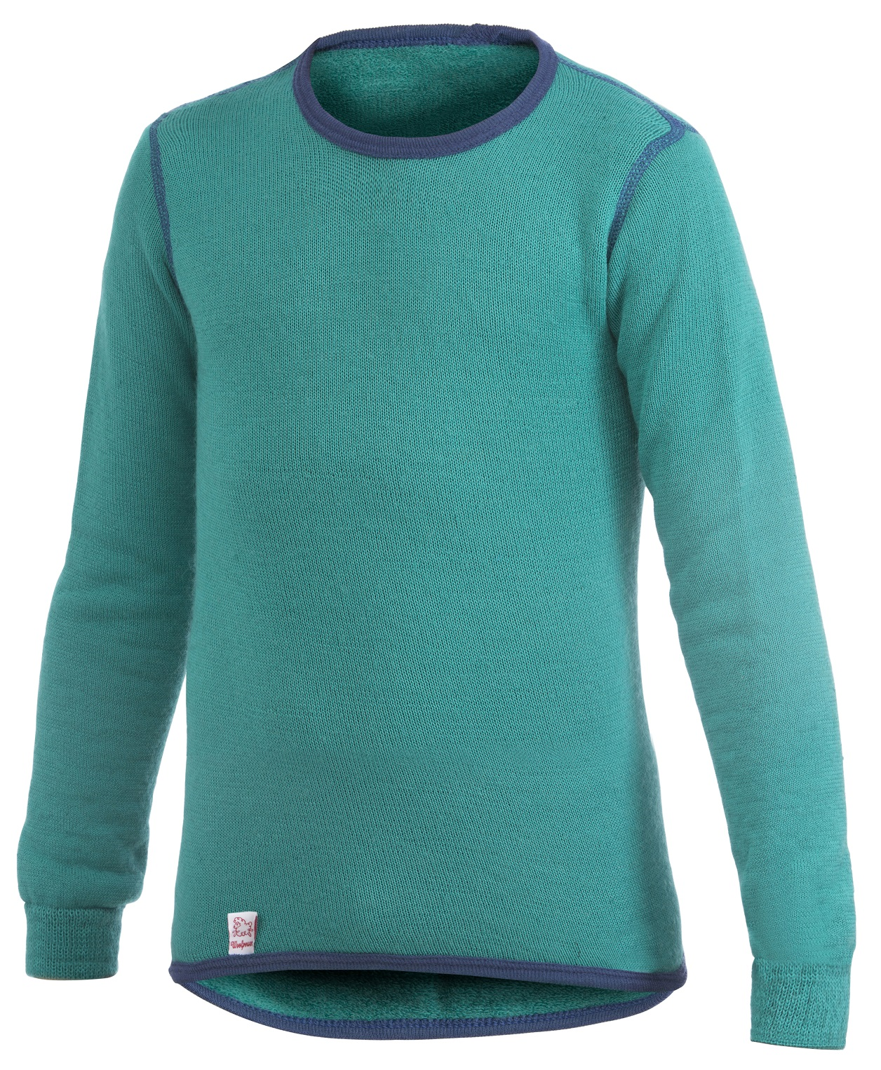 "Woolpower ""200 Kids Crewneck"" - turtle green"