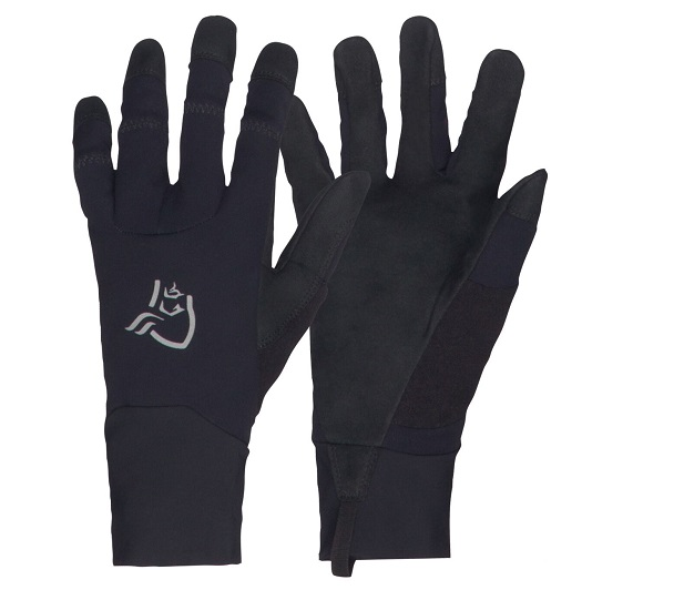 "Norrona ""Fjora Windstopper Gloves"" - caviar"