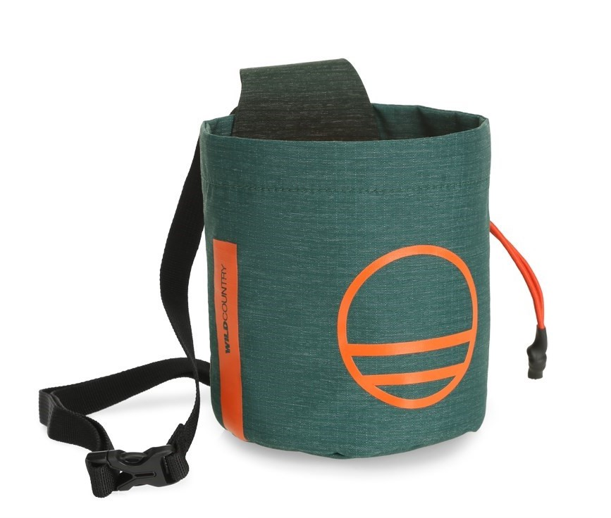 """Wild Country """"Session Chalk Bag"""" - scarab"""
