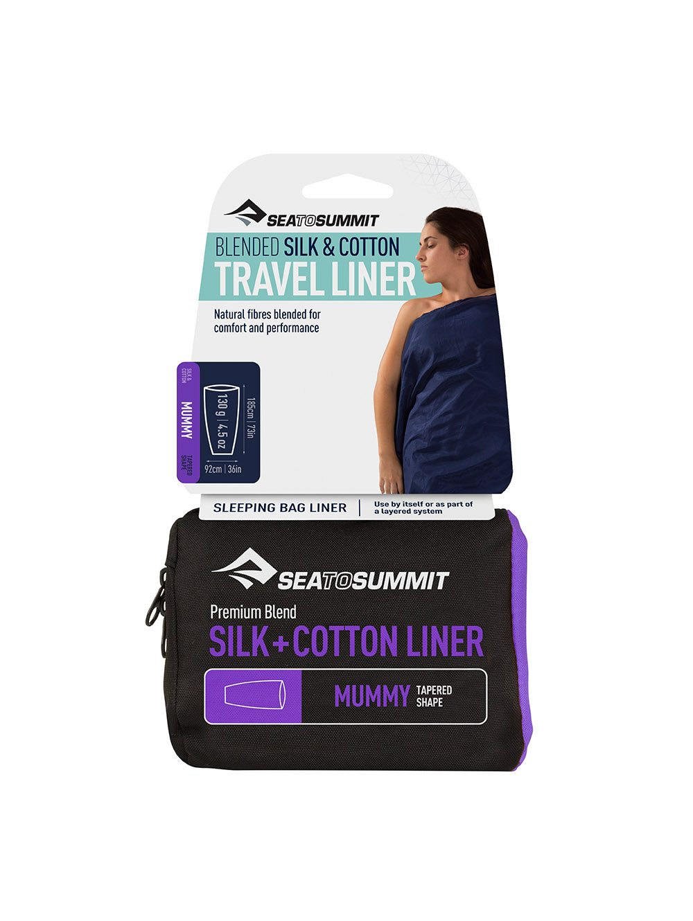 "Sea to Summit ""Silk&Cotton Travel Liner"" - Mummy"