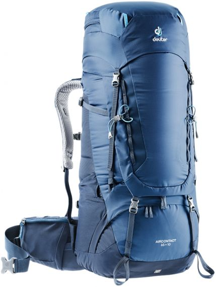 "Deuter ""Aircontact 65 + 10"" - midnight"