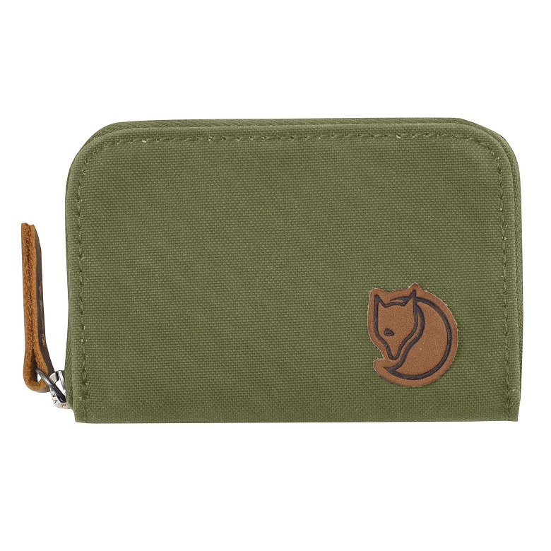"Fjällraven ""Zip Card Holder"" - green"
