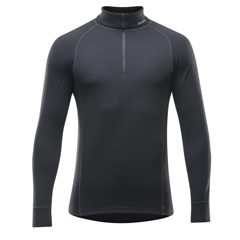 "Devold ""Duo Active Man Zip Neck"" - black"