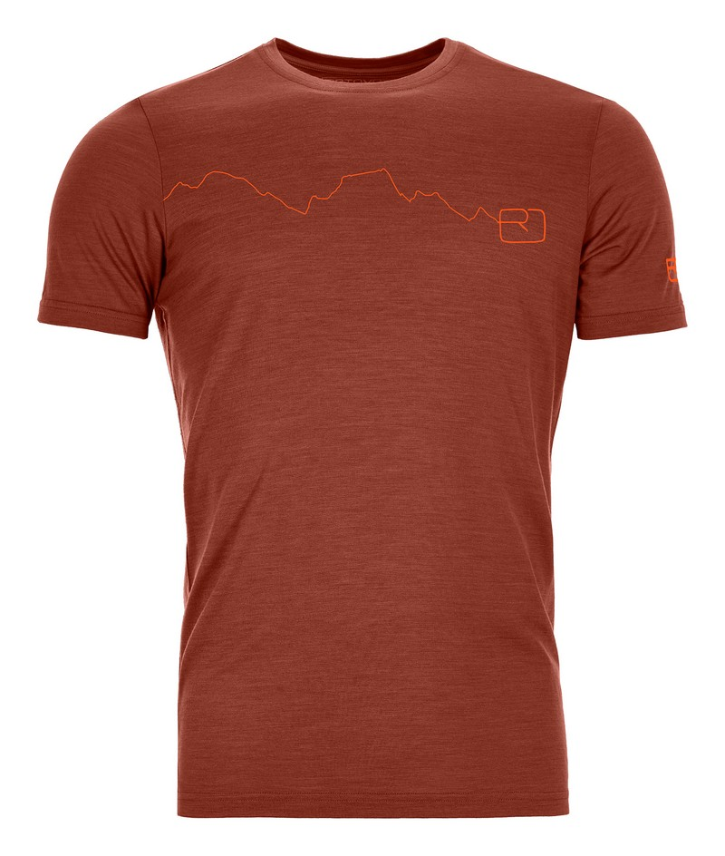 "Ortovox ""120 Tec Mountain TS M"" - clay orange"