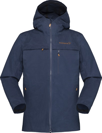 "Norrona ""Svalbard Cotton Jkt (W)"" - indigo night blue"