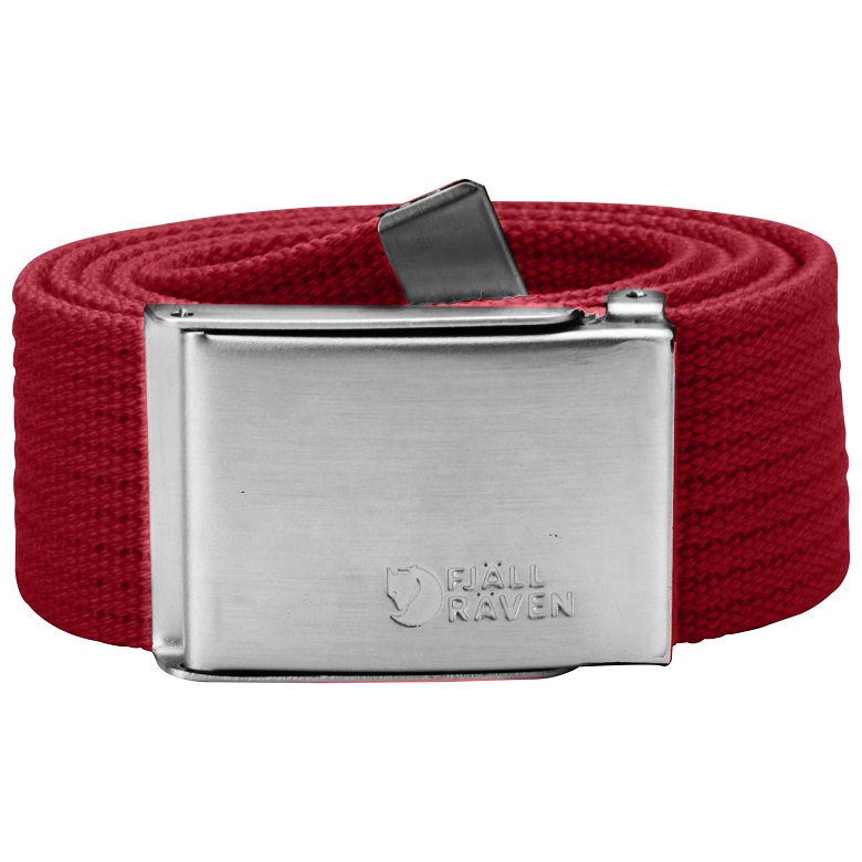 "Fjaellraven ""Canvas Belt"" - deep red"