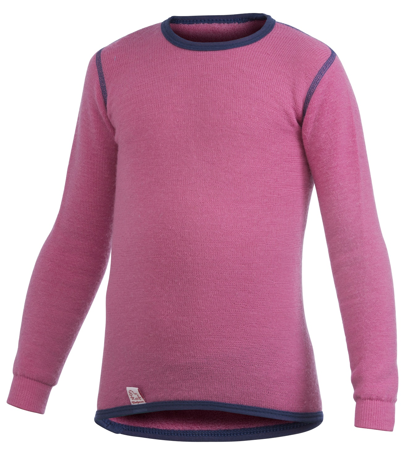 "Woolpower ""200 Kids Crewneck"" - sea star rose"