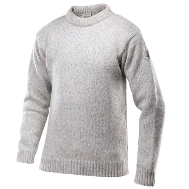"Devold ""Nansen Sweater Crew Neck"" - grey melange"