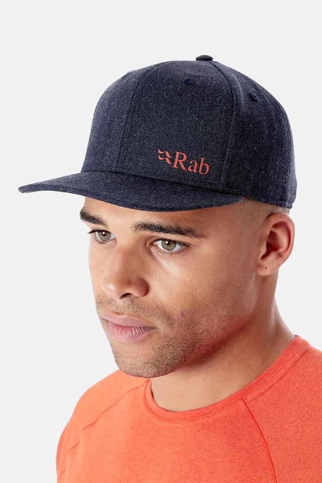 "Rab ""Flatiron Logo Cap"" - ebony"