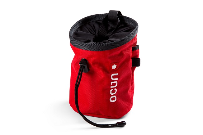 "Ocun Chalkbag ""Push + Belt""- red twist"