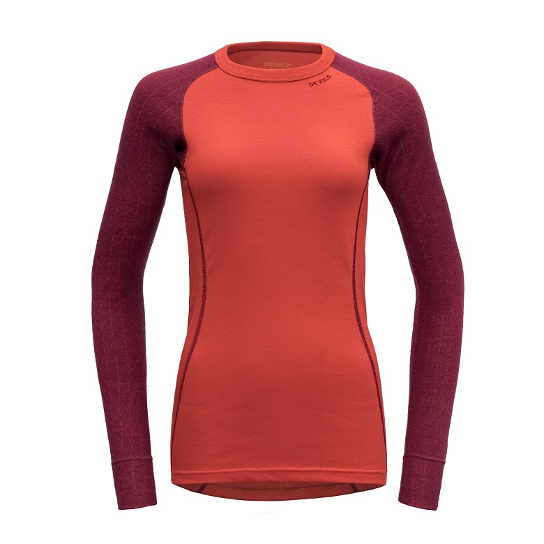 "Devold ""Duo Active Woman Shirt"" - Beetroot"
