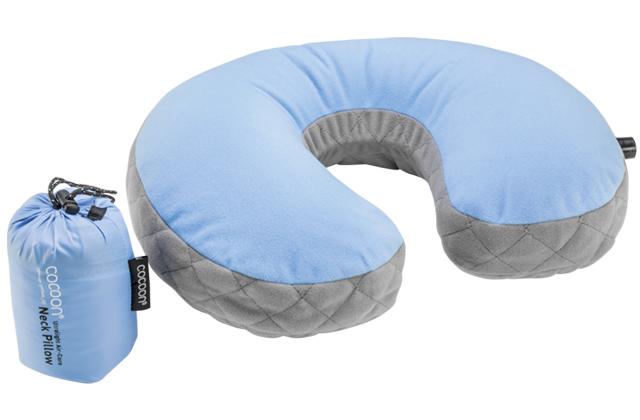 "Cocoon ""Air-Core Nackenstütze"" - light blue"