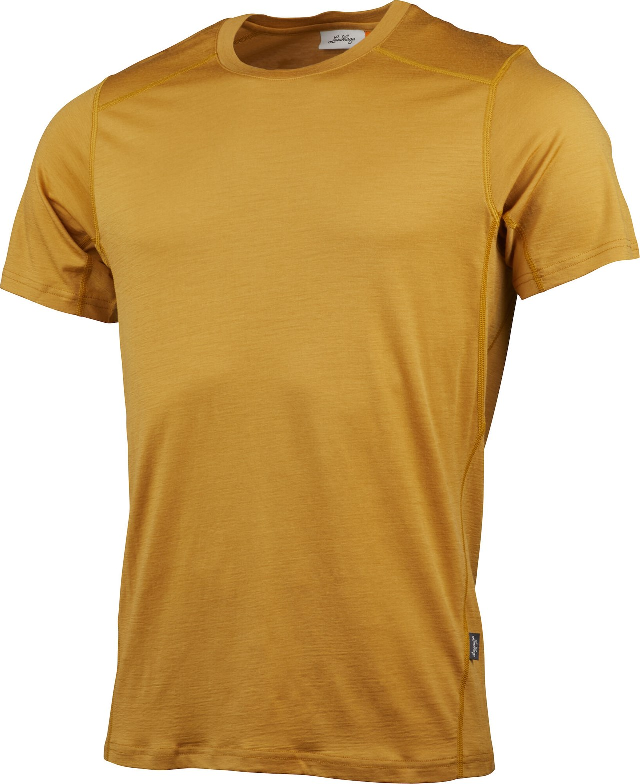 "Lundhags ""Gimmer Merino Lt Ms Tee"" - gold"