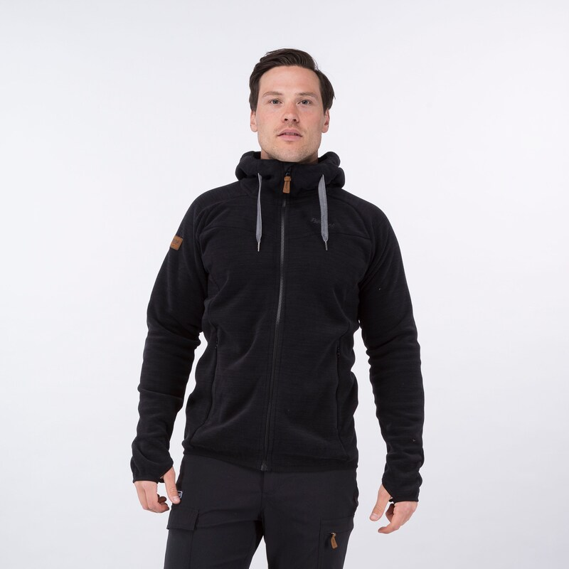 "Bergans ""Hareid Fleece Jkt"" - black"