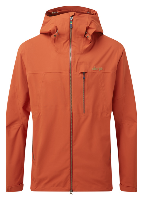 "Sherpa ""Makalu Jacket""- teej orange"