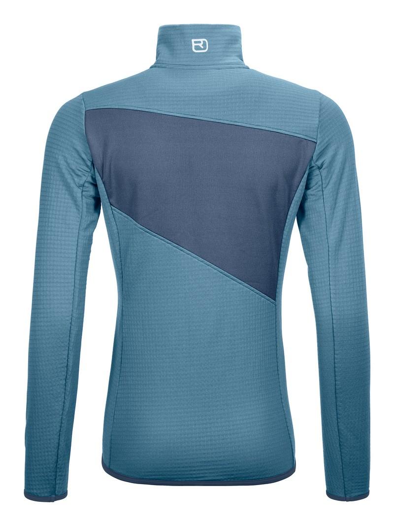 "Ortovox ""Fleece Grid Jacket W"" - light blue"