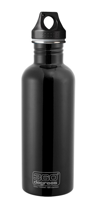 "360 Degrees ""Drink Bottle 1000ml"" - black"