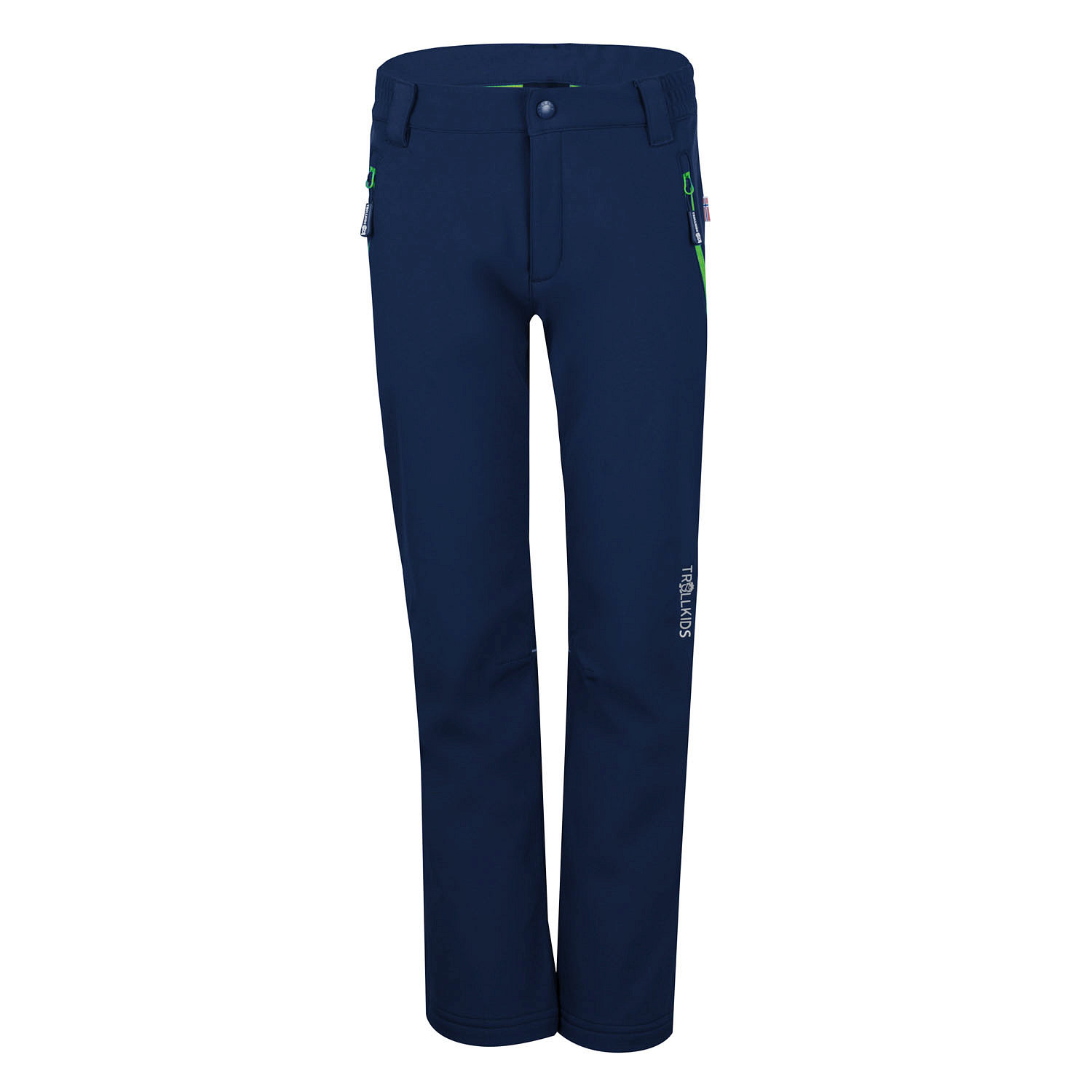 "Trollkids ""Kids Fjell Softshell Pant"" - navy"